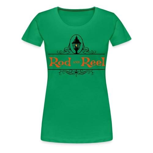 Rod and Reel Resort Logo - Women's Premium T-Shirt