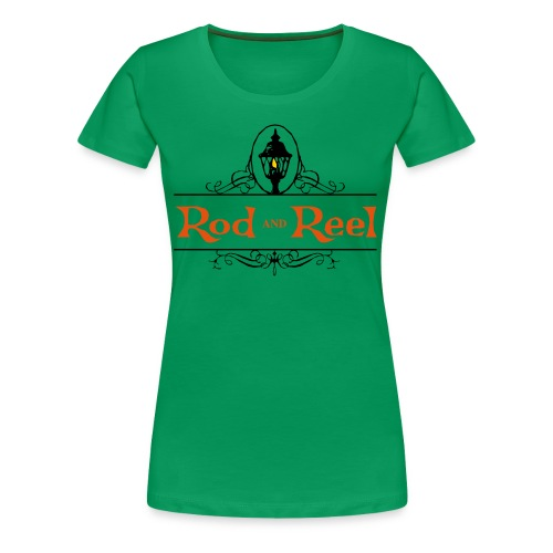 Rod and Reel Resort Logo - Women's Premium T-Shirt