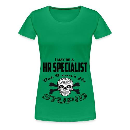 HR specialist - Women's Premium T-Shirt