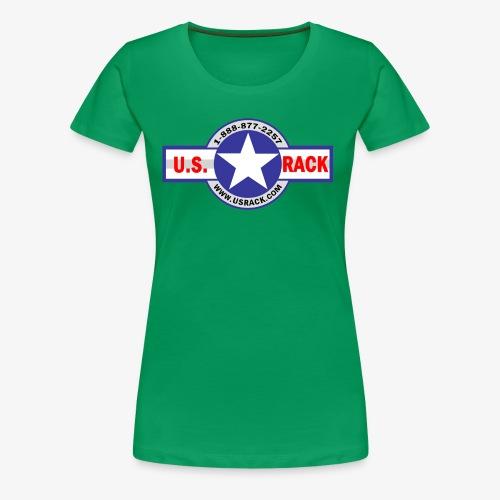 US Rack Logo - Women's Premium T-Shirt