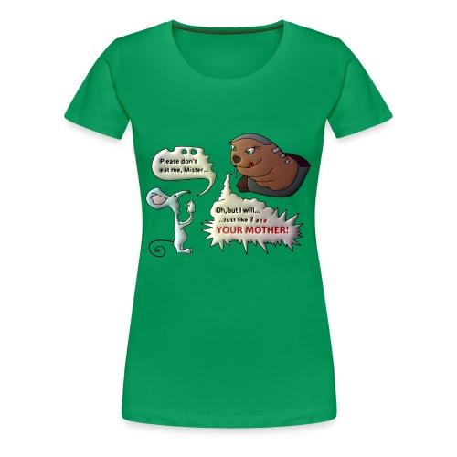 The Big Reveal! - Women's Premium T-Shirt