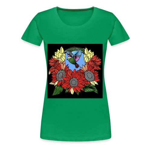 Florals - Women's Premium T-Shirt