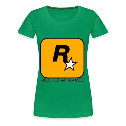 Custom Rockstar Logo - Women's Premium T-Shirt