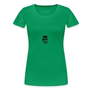 classy skull - Women's Premium T-Shirt