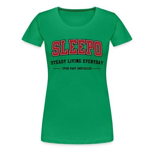 SLEEPO - Women's Premium T-Shirt