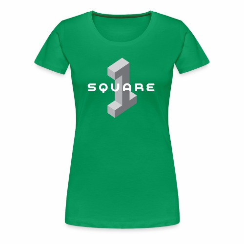Square One Logo - Women's Premium T-Shirt