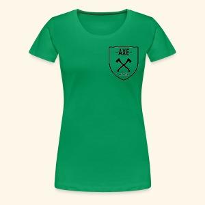 The AXE - Women's Premium T-Shirt
