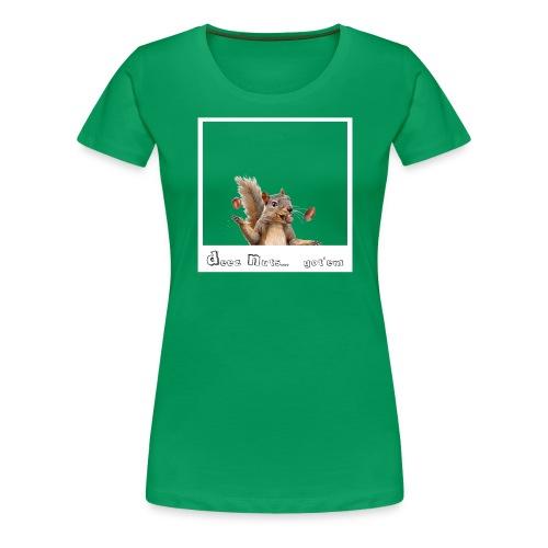 Deeznuts.... tee - Women's Premium T-Shirt