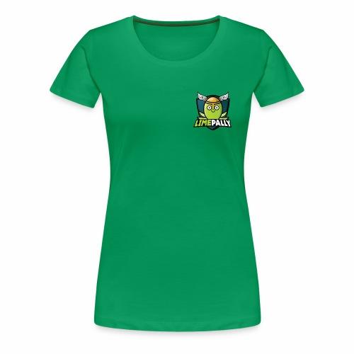 Limepally's Logo - Women's Premium T-Shirt