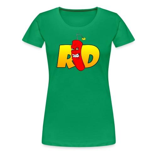 Rated Dabz Color Design - Women's Premium T-Shirt