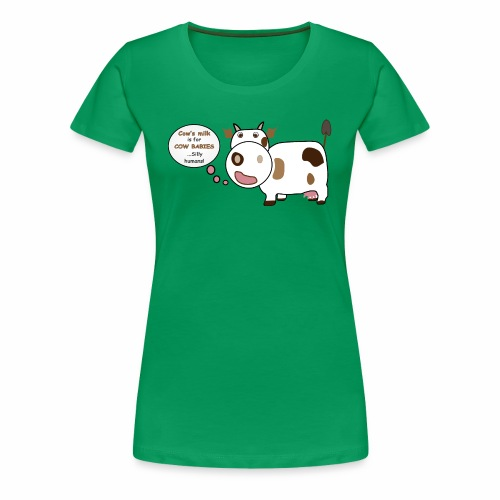 Smart Cow! - Women's Premium T-Shirt