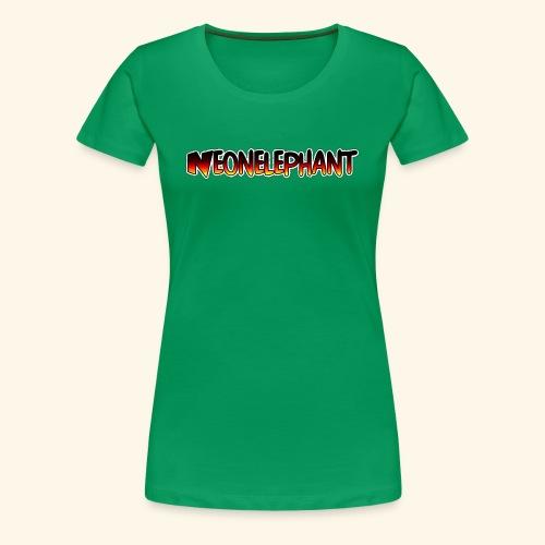 NEONELEPHANT - Women's Premium T-Shirt