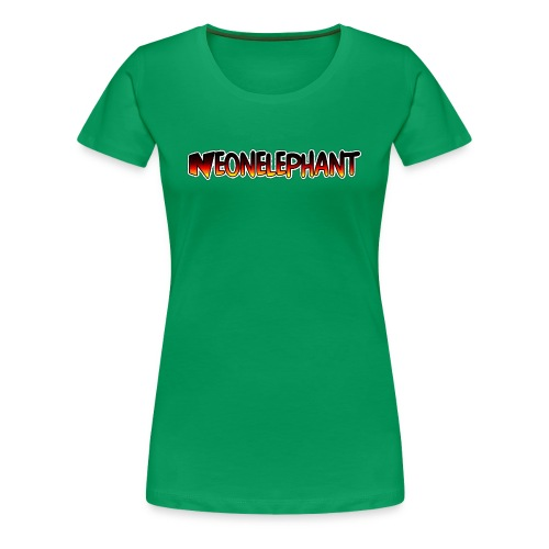 NEONELEPHANT - Women's Premium T-Shirt
