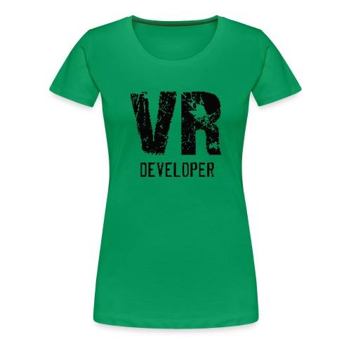 vr developer - Women's Premium T-Shirt