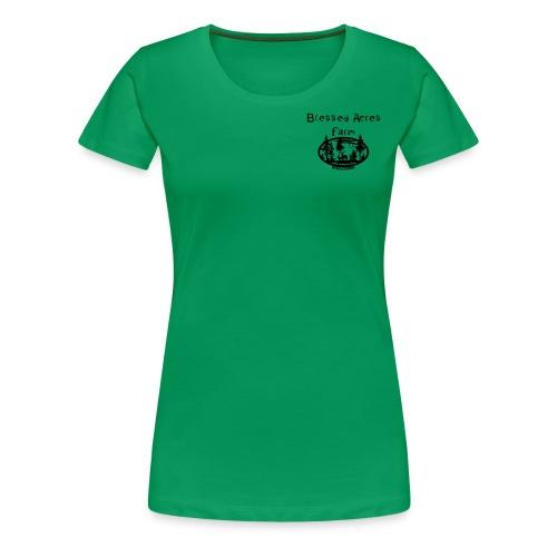 Blessed Acres Farm - Women's Premium T-Shirt