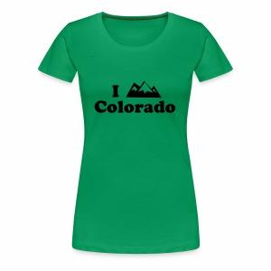 colorado mountain - Women's Premium T-Shirt