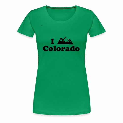 colorado mountain - Women's Premium T-Shirt