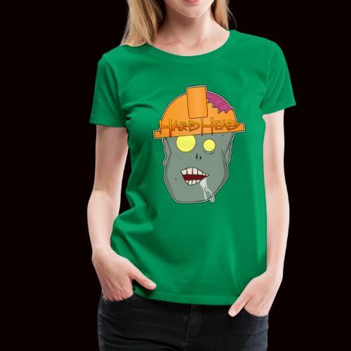 hard head zombie - Women's Premium T-Shirt