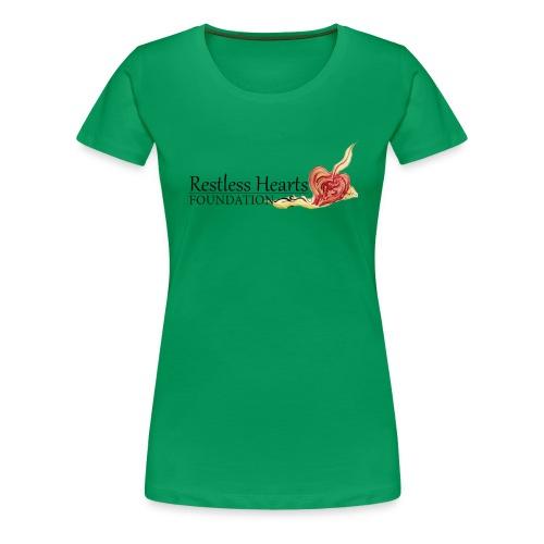 Restless Hearts Foundation Logo - Women's Premium T-Shirt