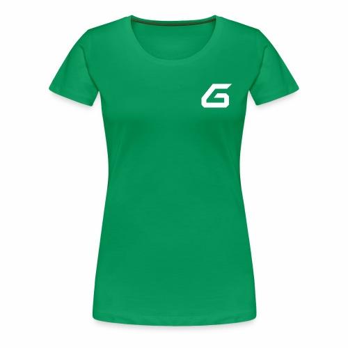 The New Era M/V Sweatshirt Logo - White - Women's Premium T-Shirt