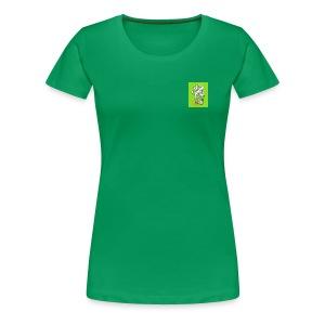 420 mean green - Women's Premium T-Shirt