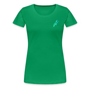 AW Studios Small Logo - Women's Premium T-Shirt