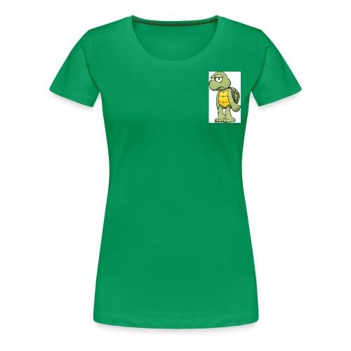 IRSPOW/the turtle - Women's Premium T-Shirt