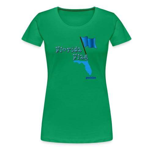 Florida Flag - Women's Premium T-Shirt