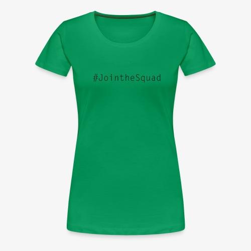 Gaming Squad Text - Women's Premium T-Shirt