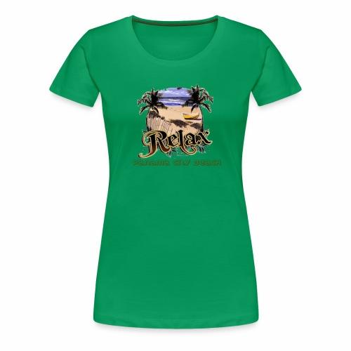 Panama city beach - Women's Premium T-Shirt