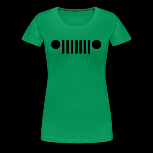 Jeep Grille - Women's Premium T-Shirt
