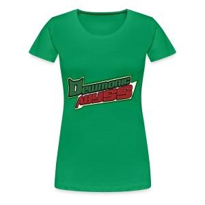 Dewmonic Abyss Logo - Women's Premium T-Shirt