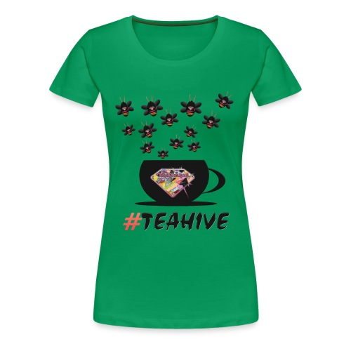#Teahive in a cup - Women's Premium T-Shirt