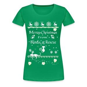 BCRMerryXmas-1 - Women's Premium T-Shirt