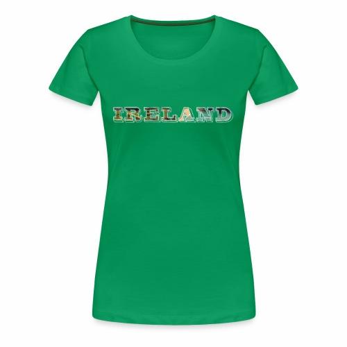 Ireland Scenic Irish Coast Travel - Best Seller - Women's Premium T-Shirt