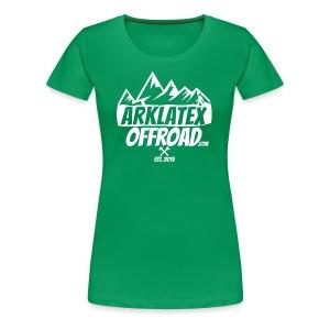 ArkLaTex Round White - Women's Premium T-Shirt