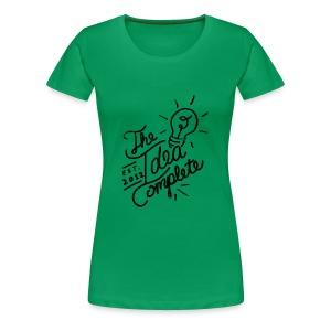 The Idea Complete Hand Drawn Tee - Women's Premium T-Shirt