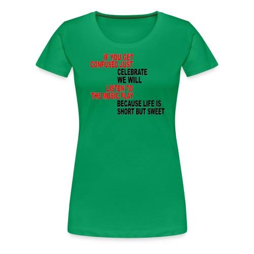Franklin's Two Step - Women's Premium T-Shirt