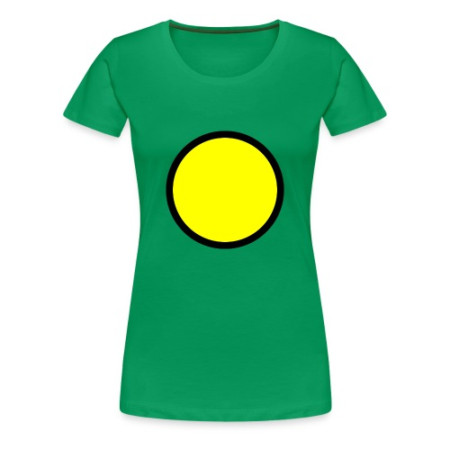Circle yellow svg - Women's Premium T-Shirt