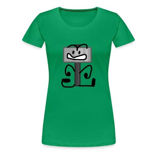 Hammer Pose - Women's Premium T-Shirt