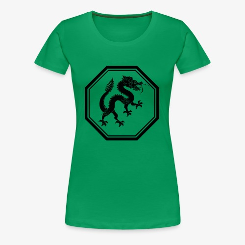 1200px Dragon svg - Women's Premium T-Shirt