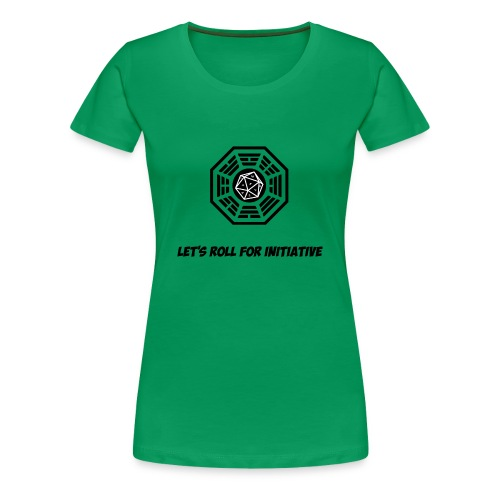 Lets Roll For Initiative - Women's Premium T-Shirt