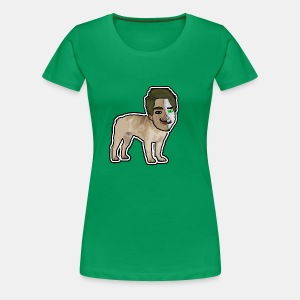 Dog PlayZ Rajzolt - Women's Premium T-Shirt