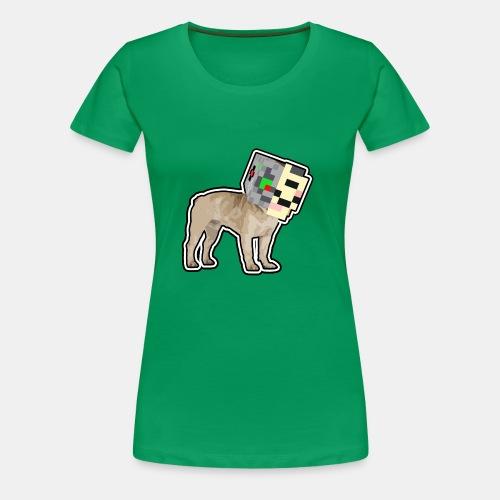 Dog PlayZ Májnkráft - Women's Premium T-Shirt
