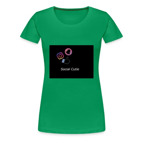 Social Cutie - Women's Premium T-Shirt