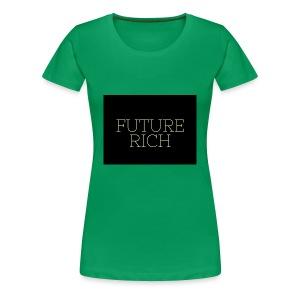 Rich Ruture - Women's Premium T-Shirt