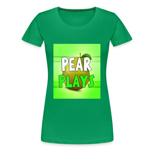 Phone Case Pear Plays Logo - Women's Premium T-Shirt