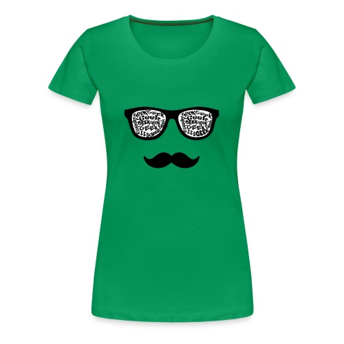 geek world - Women's Premium T-Shirt