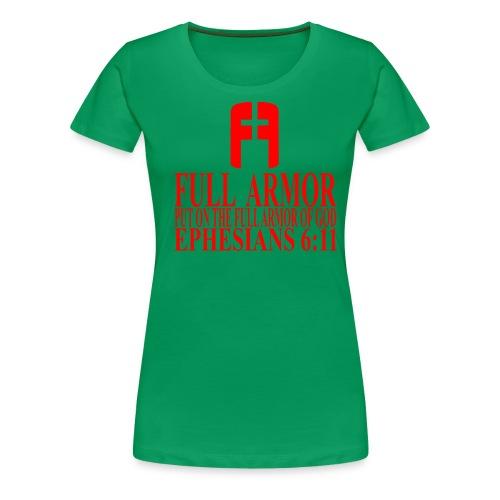 FULL ARMOR - Women's Premium T-Shirt