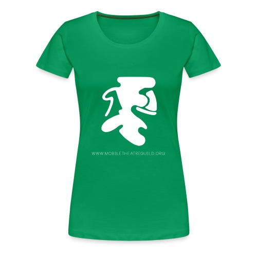 Comedy_Tragedy_Logo_MTG - Women's Premium T-Shirt